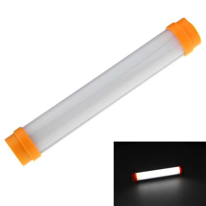 Multifunction LED Camping Lamp White 5-Mode 230lm - Orange (1 * 18650)