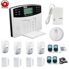 "AG-security DP-500 2.6"" Home Guard GSM SMS Alarm System w/ English Voice - White + Black (EU Plug)"