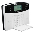 "AG-security 2.6"" GSM Alarm System w/ English Voice - White + Black"