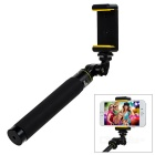 Handheld Aluminum Alloy Selfie Rod for GoPro Hero 4 / 3+ / 3 / Xiaomi Xiaoyi - Black + Red (30~80cm)