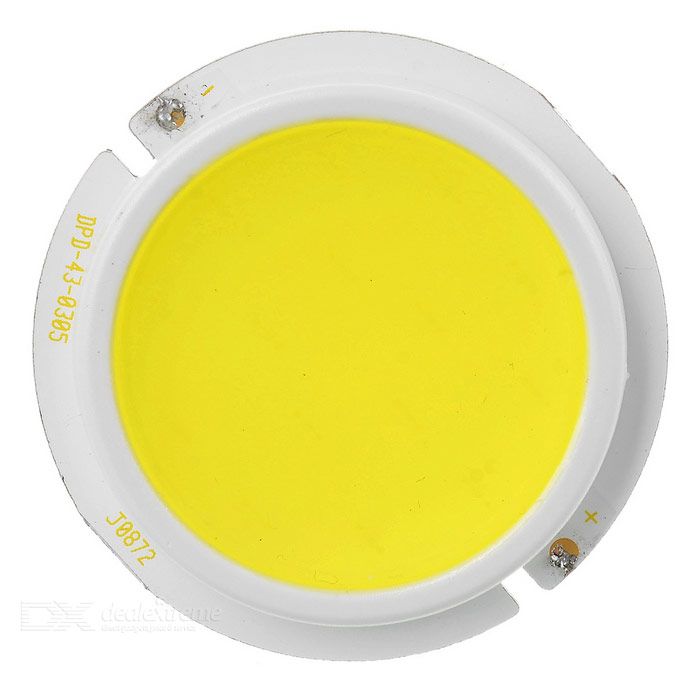 JRLED Wired 3W COB LED Light Emitter Board White Light 6450K 300lm