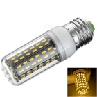E27 9W LED Corn Lamp Warm White 3000K 700lm 96-SMD 4014 - White + Black (AC 220V)