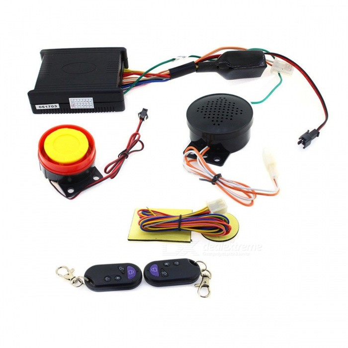 Professional Anti-Theft Security Talking Alarm System for Motorcycle
