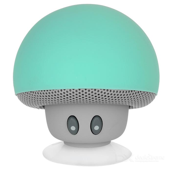 MAIKOU BT280 Mushroom Style Mini BT V2.1 Speaker - Blue-Green + GreyBluetooth Speakers<br>Form  Color Blue-green + grayModelBT280MaterialSilicone + ABSQuantity1 DX.PCM.Model.AttributeModel.UnitShade Of ColorBlueBluetooth HandsfreeYesBluetooth VersionBluetooth V2.1Operating Range10mTotal Power3 DX.PCM.Model.AttributeModel.UnitInterfaceOthers,Micro USBMicrophoneYesSensitivity85dBFrequency Response70Hz~20KHzImpedance4 DX.PCM.Model.AttributeModel.UnitApplicable ProductsIPHONE 5,IPHONE 4,IPHONE 4S,IPHONE 3G,IPHONE 3GS,IPAD,Cellphone,Tablet PC,IPHONE 5S,IPHONE 5CRadio TunerNoBuilt-in Battery Capacity 280 DX.PCM.Model.AttributeModel.UnitBattery TypeLi-ion batteryTalk Time3 DX.PCM.Model.AttributeModel.UnitStandby Time3~4 DX.PCM.Model.AttributeModel.UnitMusic Play Time2hrsPacking List1 x Speaker1 x Cable (32+/-2cm)1 x Chinese &amp; English user manual<br>