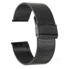 42 mm de acero inoxidable banda de reloj sin adjunto para el reloj APPLE - Negro