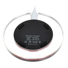 Qi Wireless Charger for Samsung S6/S6 Edge, Apple IWATCH + More -Black