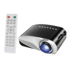 Vivibright GP8S Mini Portable DLP Projector w/ Dual HDMI, MHL, USB, SD - Black + Silvery Grey