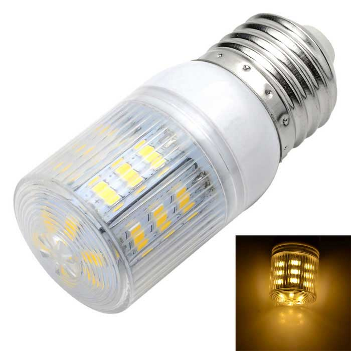 Marsing E27 5W LED Corn Bulb Lamp Warm White 3500K 500lm 22-SMD 5730