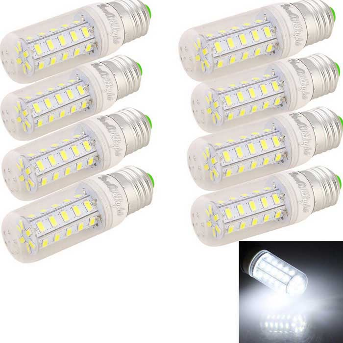 YouOKLight E27 7W LED Corn Bulb Lamp White Light 680lm 36-SMD (8PCS)