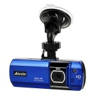 "Amkov PH-007 170' Wide Angle CMOS Car DVR  w/ 2.7"" LCD HD, 5MP, Motion Detecting - Blue + Black"