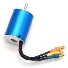 HJ 6200KV KV6200 Sensorless Brushless Motor for RC Car / Boat - Sky Blue + Silver