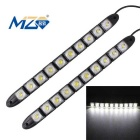 MZ Flexible 5W 10-LED Car Daytime Running Light / Fog Lamp White 65ooK 200lm 5050 SMD (2PCS / 12V)