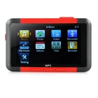"3.0"" Screen MP3 / MP4 / MP5 Player w/ Voice Recording / TF / FM / E-Book - Black + Red (8GB)"
