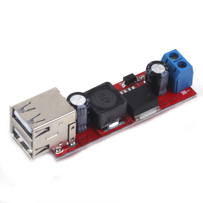 ZnDiy-BRY DIY DC 6V~40V to 5V 3A Step Down Regulator Module