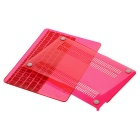"Mr.northjoe Case + Keyboard Cover for MACBOOK 12"" - Transparent Red"