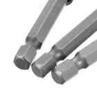 Extending Bits Connecting Rods Set - Silver + Gray