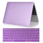 "Mr.northjoe 2-in-1 Ultra-Slim Protective Hard Case + Keyboard Cover Set for MACBOOK 12"" - Purple"