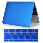 "Mr.northjoe 2-in-1 Protective PC Full Body Matte Case + Keyboard Cover for MACBOOK 12"" - Dark Blue"