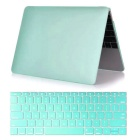"Mr.northjoe 2-in-1 Ultra-Slim Protective Hard Case + Keyboard Cover Set for MACBOOK 12"" - Green"