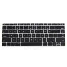 "Mr.northjoe PC Matte Caso + Teclado Cover para Macbook 12 ""- Preto"
