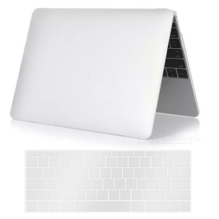 "Mr.northjoe PC matte caso + tampa do teclado para MACBOOK 12"" - branco"