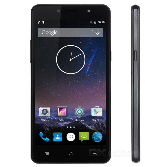 SISWOO C55 Android 5.1 Octa-Core 4G Phone w/ 2GB RAM, 16GB ROM - Black