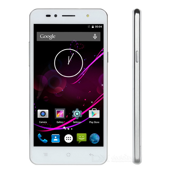"SISWOO C50 Quad-Core Android 5.1 4G FDD-LTE Mobile Phone w/ 5"" IPS, 1GB RAM, 8GB ROM, Wi-Fi - White"