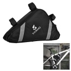 Yanho YA085 Outdoor Cycling Oxford Cloth Bike Bicycle Top Tube Triangle Bag - Black
