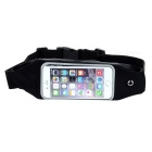 "Outdoor Sports Touch Screen Water Resistant Waist Bag Pouch Case for IPHONE 6 & 4.7"" Phones - Black"