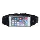 "Outdoor Sports Touch Screen Water Resistant Waist Bag Case for IPHONE 6 PLUS & 5.5"" Phones - Black"