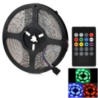JRLED 36W 300-3528 SMD LED Light Strip RGB 3000lm w/ 20-Key Music LED Controller (12V / 5M)