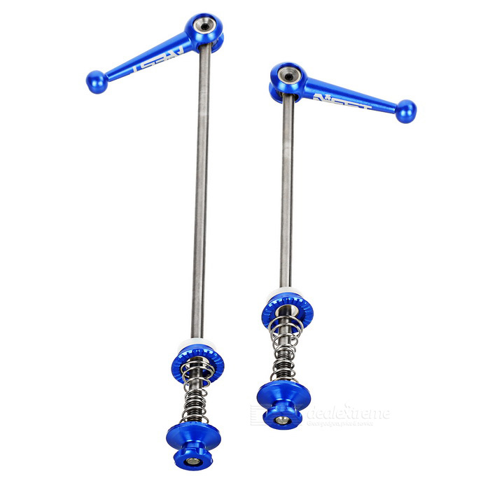 AEST Ultralight Tapered Quick Release Hub Skewer Set - Blue (2PCS)