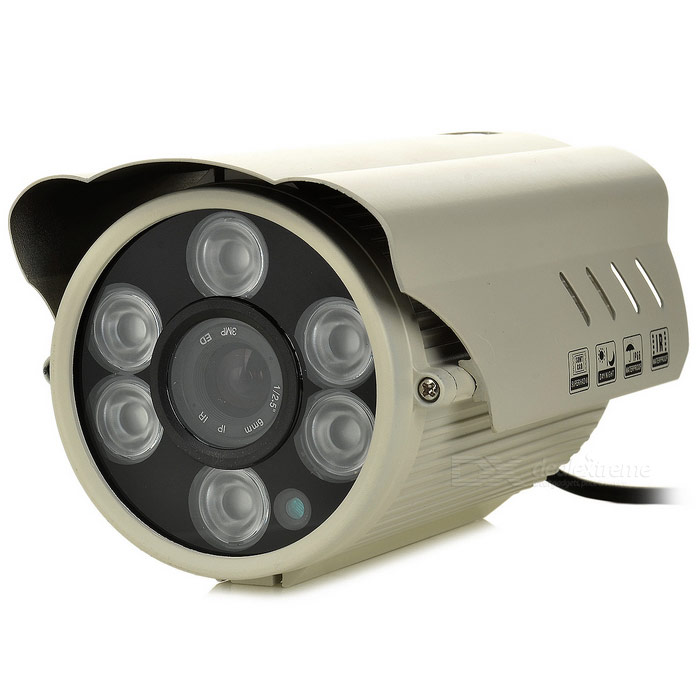 SEEHOO SE-DT5039D 1/4 Микрон 139 900TVL CCTV камеры W / 6-IR LED Night Vision