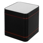 MAIKOU Portable Mini Bluetooth V3.0 Speaker w/ TF Slot & Hands-Free & FM - Black + White