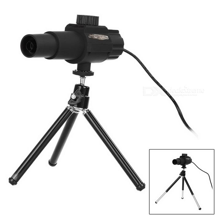 2.0MP Camera 20X Smart Digital Telescope / Microscope - Black