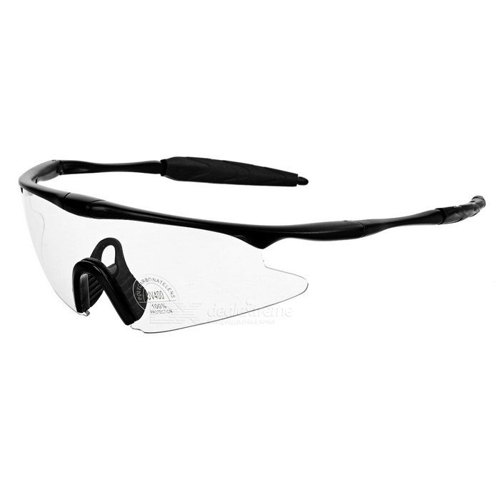 CTSmart Multifunction Polarized Bicycle Glasses Goggles - Transparent