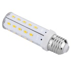 E27 12W Ampoule LED de maïs blanc chaud 1080lm 32-SMD - blanc + orange