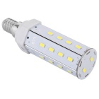 E14 9W LED Corn Light Bulb Cool White 800lm 26-5630 SMD (AC 100~240V)