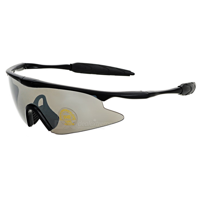 CTSmart Multifunction Polarized Cycling Sunglasses Goggles - Brown