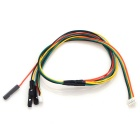 HJ 3DR Radio Telemetry Mini Y-shape OSD Signal Cable for APM2.5/2.6 - Yellow + Green (30cm)