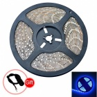 JIAWEN Waterproof 20W Blue Light LED Strip Lamp 450-490nm 300-3528 SMD (DC 12V)