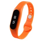 "E06 Sports 0.69"" Bluetooth V4.0 Smart Bracelet w/ Activity Tracker, Pedometer, Sleep Monitor -Orange"