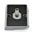 "Quick Release Plate w/ 1/4""-20 Screw for MANFROTTO 200PL-14 - Grey"