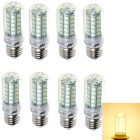 YouOKLight E27 9W LED Corn Light Bulb Lamps Warm White 3000K 880lm 48-SMD 5730 (220~240V / 8 PCS)