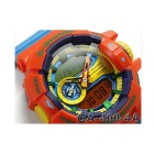 Casio G-Schock GA-400-4AER -orange + blaues Band