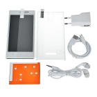MixC V3 Android 4.4.2 telefoon w / 512MB RAM, 4GB ROM - wit + zilver