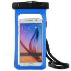 MAIKOU Universal Touch Screen Underwater Phone Bag Pouch Waterproof Case w/ Bike Mount - Blue