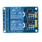DIY 5V 2-CH Relay Module Board - Deep Blue