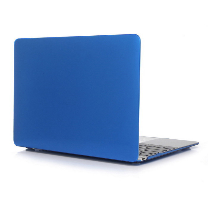 "ENKAY Protective Hard PC Full Body Case for MACBOOK 12 "" - Dark Blue"