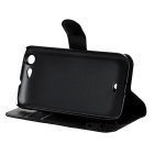 PU Case w/ Stand for WIKO Highway - Brown+ Black + White (3PCS)